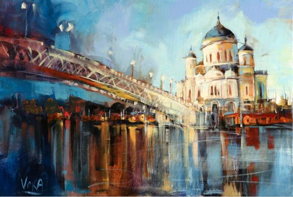 , 'Moskau Kathedrale,' 2017, ArtCatto