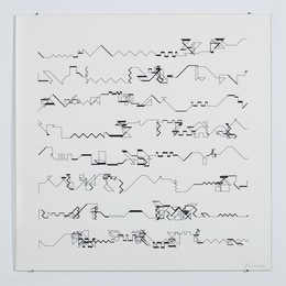 , 'P-021,' 1970-1983, bitforms gallery