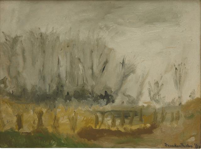, 'New Jersey Landscape,' 1952, Helen Frankenthaler Foundation