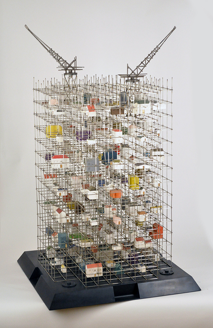 Bunpei Kado, 'A mansion of  a house ', 2013, Art Front Gallery