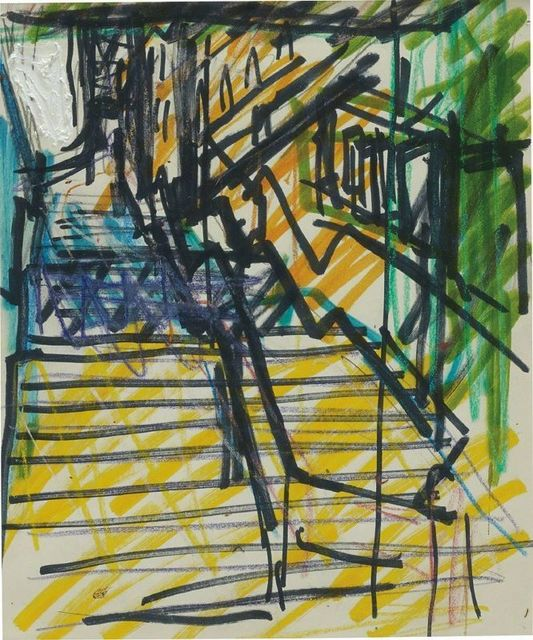 , 'St Pancras Steps,' 1978-1979, Castlegate House Gallery