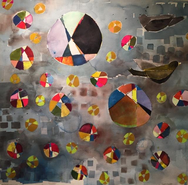 , 'Yellow and Black Bird,' 2017, M.A. Doran Gallery