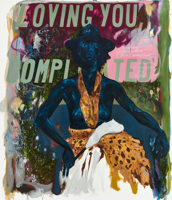 , 'Loving you is complicated,' 2017, Goodman Gallery