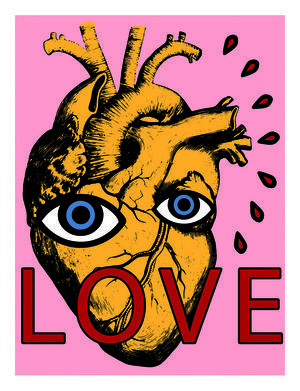 Angelo Pioppo, 'Love', 2017, Dope! Gallery