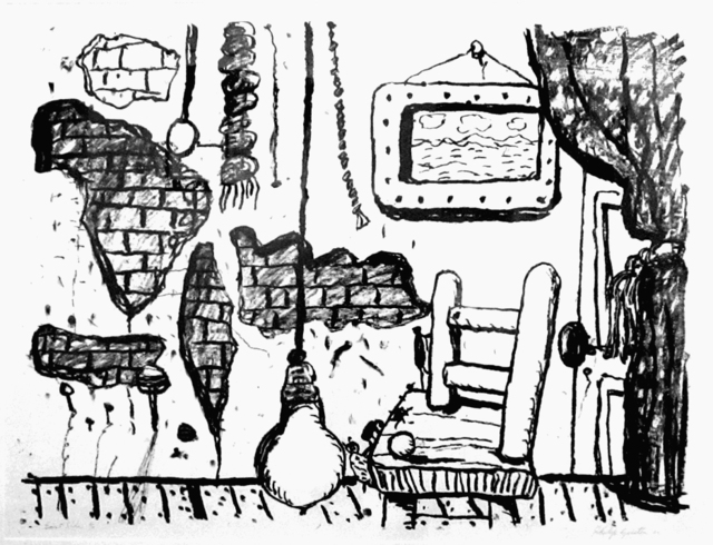 Philip Guston, 'East Side ', 1980, Print, Lithograph, Adam Baumgold Gallery