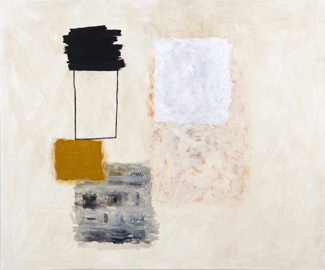 , 'Black, Ochre, White,' 2017, Kathryn Markel Fine Arts