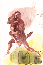Eric Fischl, 'Untitled: Dancers (Red Couple)', 2004, Hexton Gallery