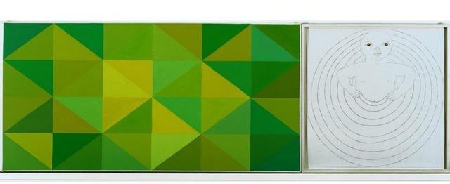 , 'Nacer Igual -- Verde,' 2001, Zavaleta Lab Arte Contemporáneo
