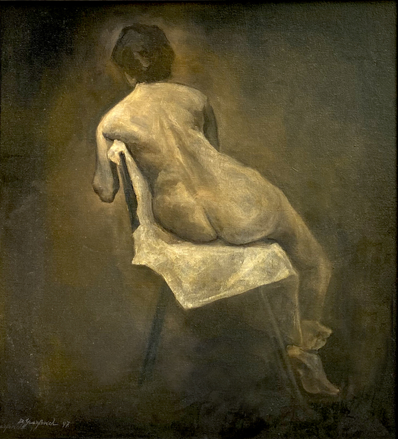 Dim Yuz, 'Model', 1997, Painting, Oil on canvas, Dan Gallery