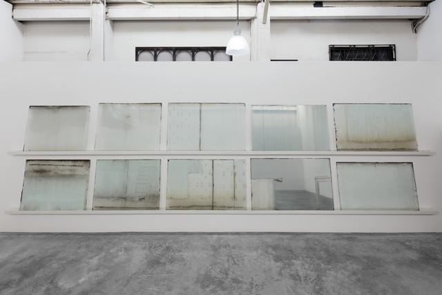 Frida Escobedo, 'El Otro', 2012-2018, Installation, 10 glass windows from a modernist building in colonia Juárez, Mexico City, Galerie Nordenhake