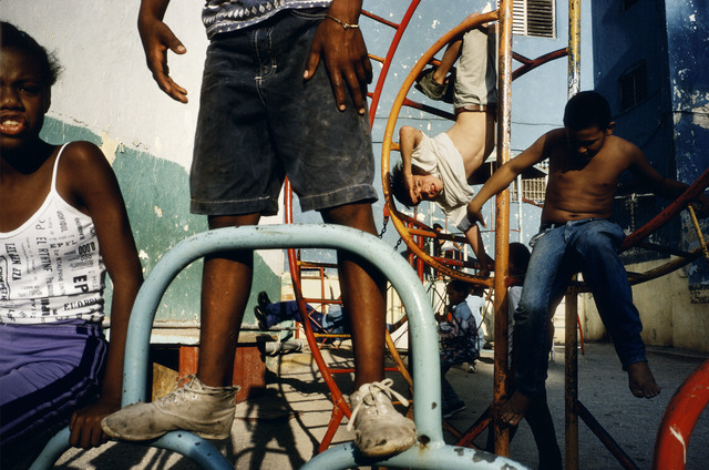 , 'Children playing in a playground. Havana. Cuba. ,' 2000, Magnum Photos