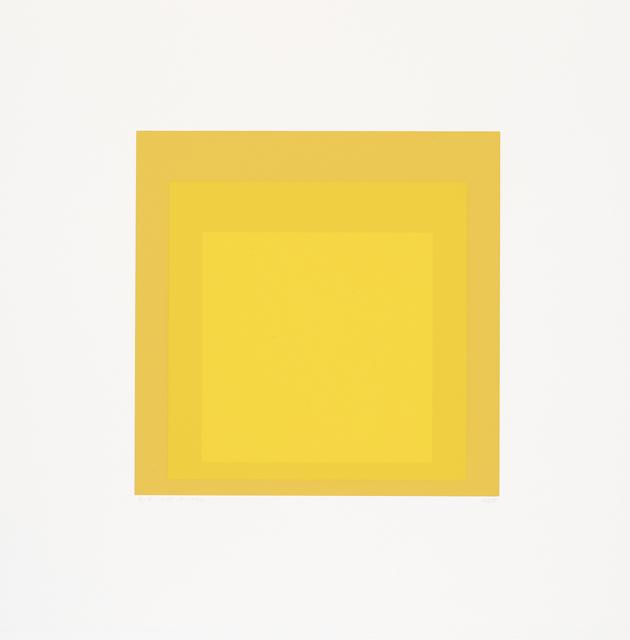 Josef Albers, 'I-S LXXb', 1970, Cristea Roberts Gallery
