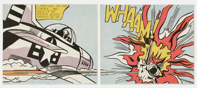 , 'WHAAM!,' 1963, Robert Fontaine Gallery