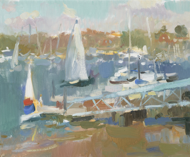 , 'First Sailing at Warsash,' , Jonathan Cooper