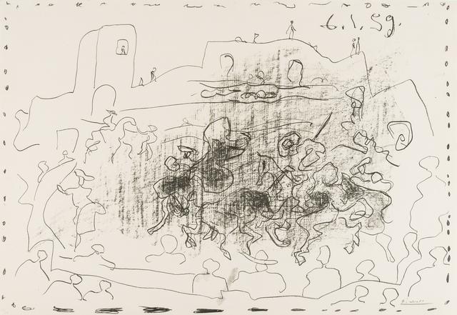 Pablo Picasso, 'La Pique (Bloch 868)', 1959, Forum Auctions