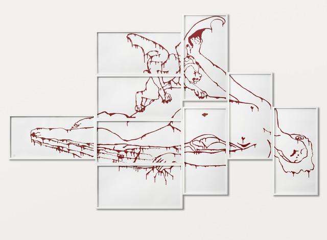 , 'Cauchemar,' 2013, Sabrina Amrani
