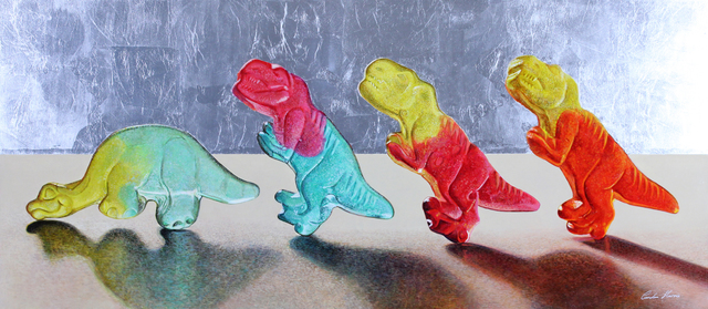 , 'Dinosaur Line Up,' , Gormleys Fine Art