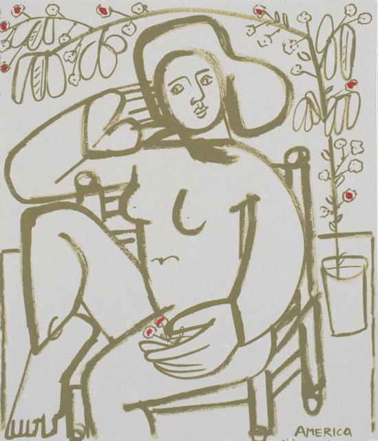 , 'Outside in the Breeze,' 2019, Wally Workman Gallery