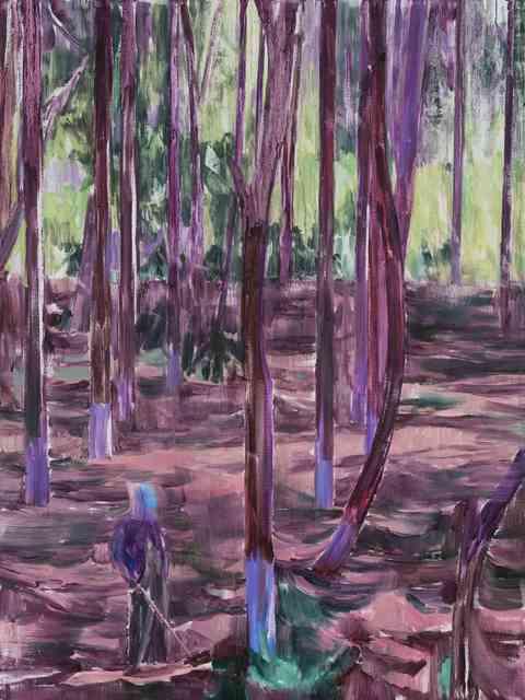 , '林中人A A Figure in the Woods A,' 2017, Matthew Liu Fine Arts