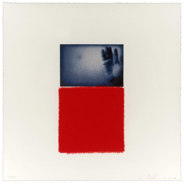 , 'blue victory,' 2012, Gemini G.E.L.