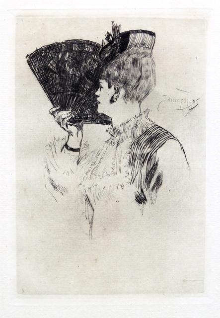 , 'Manette Solomon or Parisine,' 1876, Hans den Hollander Prints