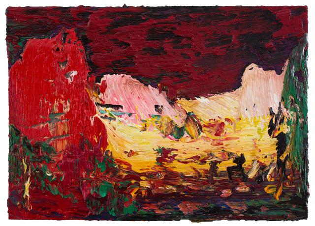 , 'Red cloud,' 2018, CFHILL