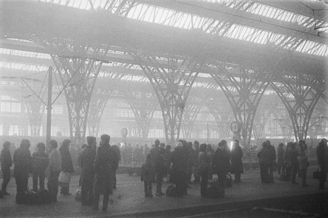 , 'Leipzig, Hauptbahnhof,' 1985, Collection Regard