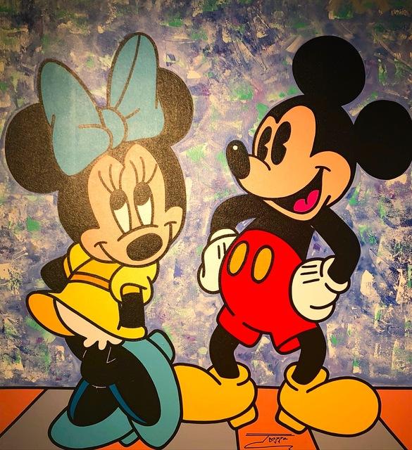 JOZZA, 'Mickey and Minnie ', 2018, David Parker Gallery