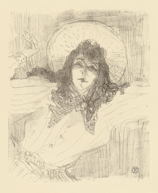 Henri de Toulouse-Lautrec, 'May Belfort,' 1898, Christopher-Clark Fine Art