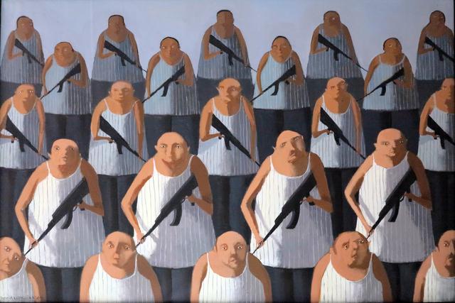 "Annie Kurkdjian, '""Number 296"" / ""Numara 296""', 2015, Galeri 77"