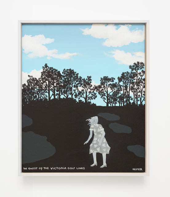 , 'Ghost Of The Victoria Golf Links,' 2003, VARIOUS SMALL FIRES