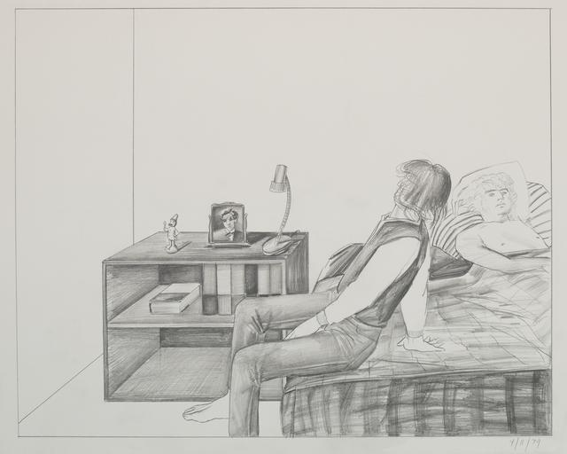 , 'Bookcase with Oscar Wilde,' 1979, Galerie Thomas Fuchs