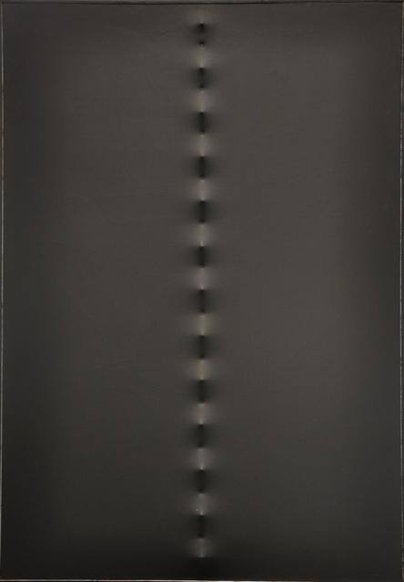 , 'Superficie Nera,' 1961, Galleria Tega