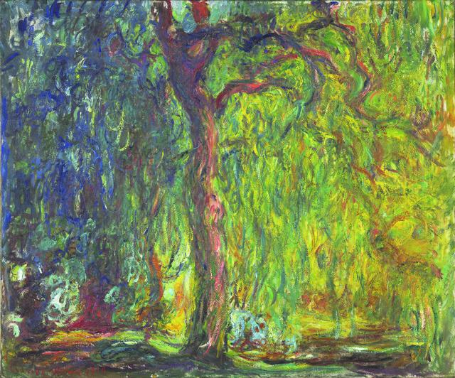 , 'Weeping Willow,' 1918–1919, de Young Museum