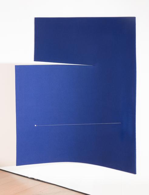 , 'Work On Felt (Variation 16) Dark Blue,' 2017, Paul Kasmin Gallery