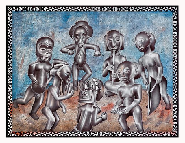 , 'La ronde festive,' 2016, Africa Bomoko
