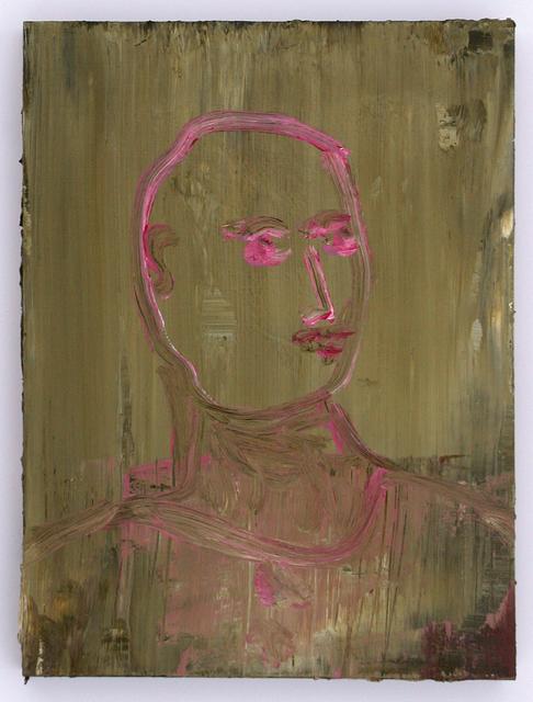 , 'Kopf der Leidenschaft,' 2008, Galerie Herold