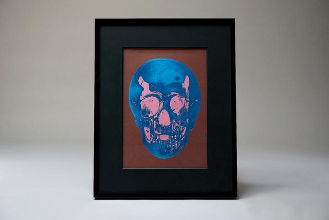 Damien Hirst, 'Skull, Blue/Pink ', 2012, Arton Contemporary