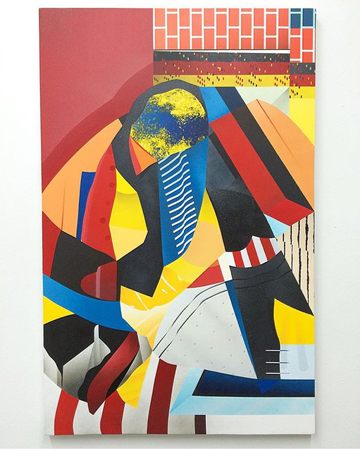 , 'Birth of a Brickslayer,' 2016, LCD Gallery