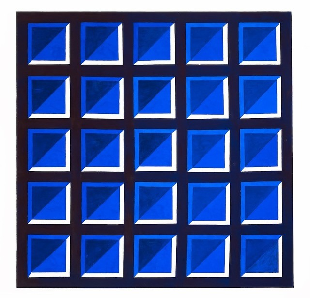 , 'Blue on Blue Series 6, No. 1,' , Lisa Norris Gallery