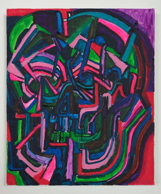 , 'Soma (Technicolor),' 2018, Xavier Hufkens