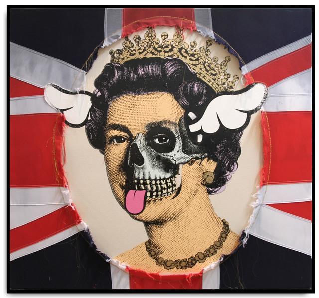 , 'Mortuus Vivens Regina,' 2015, StolenSpace Gallery