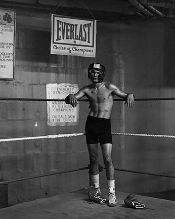 Kurt Markus, 'Abbi Vega, Gleason's Gym, New York', 1990, Photography, Staley-Wise Gallery