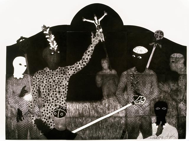 , 'La consagración III (The Consecration III),' 1991, Fowler Museum at UCLA