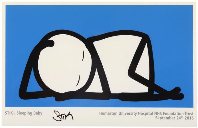 Stik, 'Sleeping Baby', 2015, Chiswick Auctions