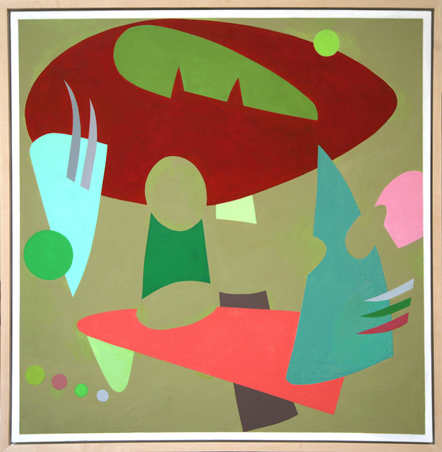 , '#10 Red and Green with Helpers,' , ViVO Contemporary