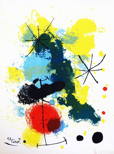 Joan Miró, 'Composition', 1964, ArtWise