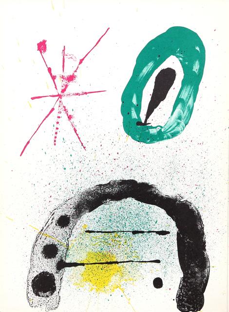 Joan Miró, 'La Fille du Jardinier II from Derrière le Miroir ', 1963, RoGallery