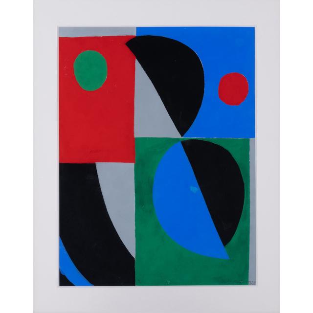 Sonia Delaunay, 'Poésie de mots, poésie de couleurs', 1961, PIASA