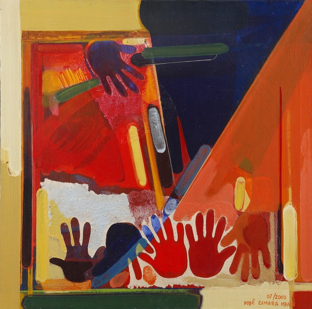 , 'Witnesses Passing in Turn,' , Contemporary African Art Gallery
